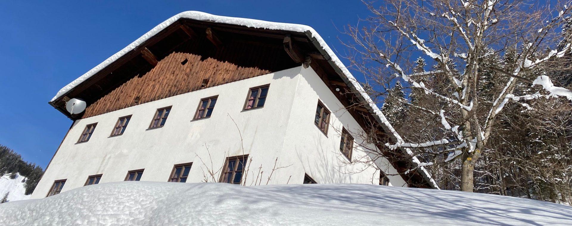 Ferienhaus K7 Selbstversorgerhaus Berghütte Tirol
